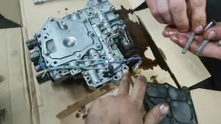 nissan Almera Classic. Замена масла АКПП со снятием потдона и заменой фильтра