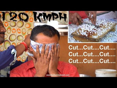 Fast Workers |  Amazing Knife Skills | Street Food in India
