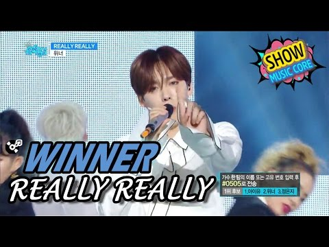[HOT] WINNER(위너) - REALLY REALLY Show Music Core 20170422