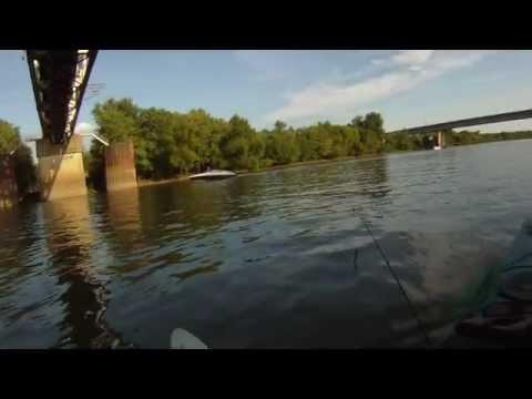Kayaking the Kaskaskia River, Illinois