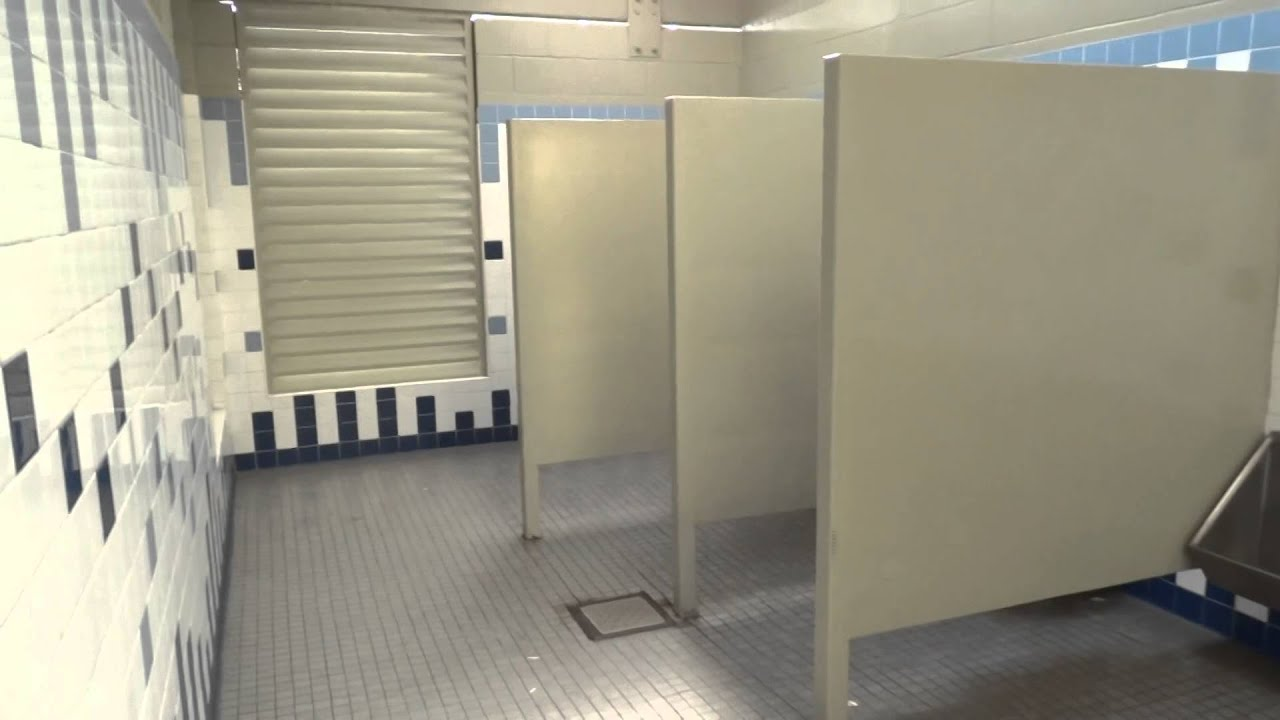 Bathroom Stalls With Doors no privacy in public bathrooms newport beach california - youtube