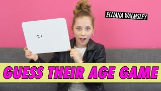 Elliana Walmsley - Guess Their Age Game