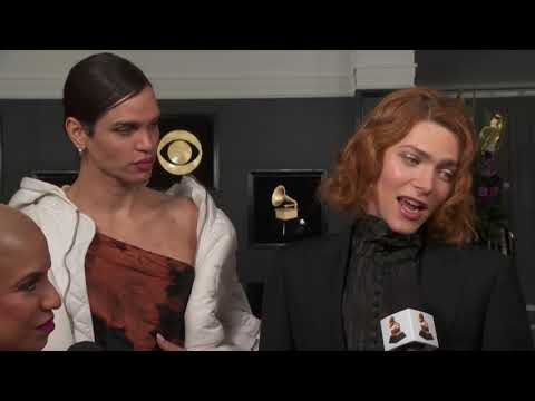 Sophie Red Carpet Interview | 2019 GRAMMYs
