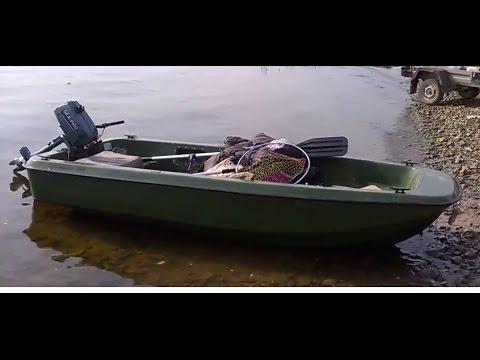 Пластиковая лодка Антал Кайман 300, лодочный мотор Sea-Pro 2,5