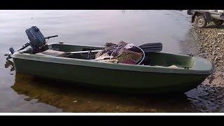 Пластикова човен Антал Кайман 300, човновий мотор Sea-Pro 2,5