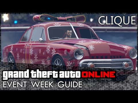 GTA Online: Clique and Bomb Ball Mode Release, Massive Double Cash Opportunities and More!