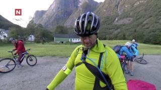 Geir finner brekk på sykkelen