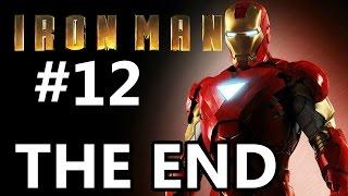 Iron Man Gameplay Walkthrough Part 12 - Obadiah Stane + ENDING [PS3]