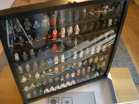 How to make a Lego Minifigure display case (part 1 of 2) - YouTube