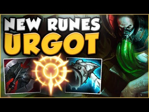 NEW PRESS THE ATTACK RUNE MAKES URGOT GOD TIER! URGOT TOP GAMEPLAY SEASON 8! - League of Legends