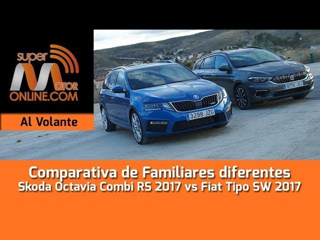 Skoda Octavia Combi RS vs Fiat Tipo SW / Al volante / Review / Supermotoronline.com