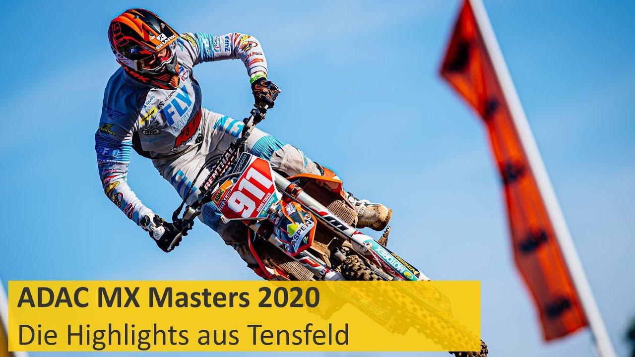 ADAC MX Masters 2020 | Wahrhaft meisterlich | Die Highlights aus Tensfeld