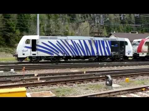 Die Brennerbahn (italienisch Ferrovia del Brennero) in (4K)