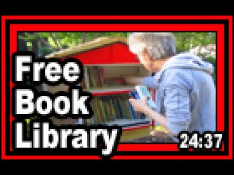 Free Book Library - Wisconsin Garden Video Blog 766