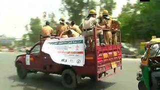 Delhi: Car rally, street play mark Day 4 of Fire Service Week