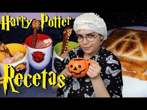 3 recetas de Harry Potter sencillas con la abuelita Potter #Halloween 🎃