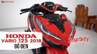Honda Vario 125 Smartkey Đỏ Đen ▶ Tổng quan sản phẩm