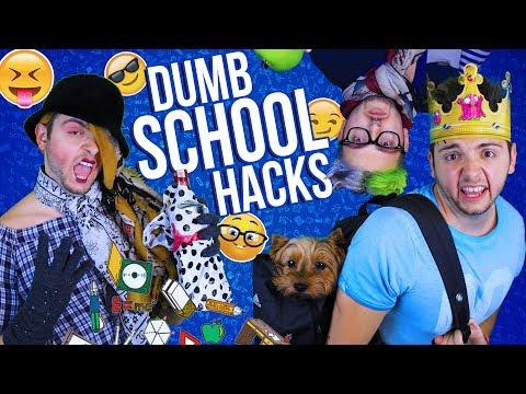 Идиотски Хакове за Училище