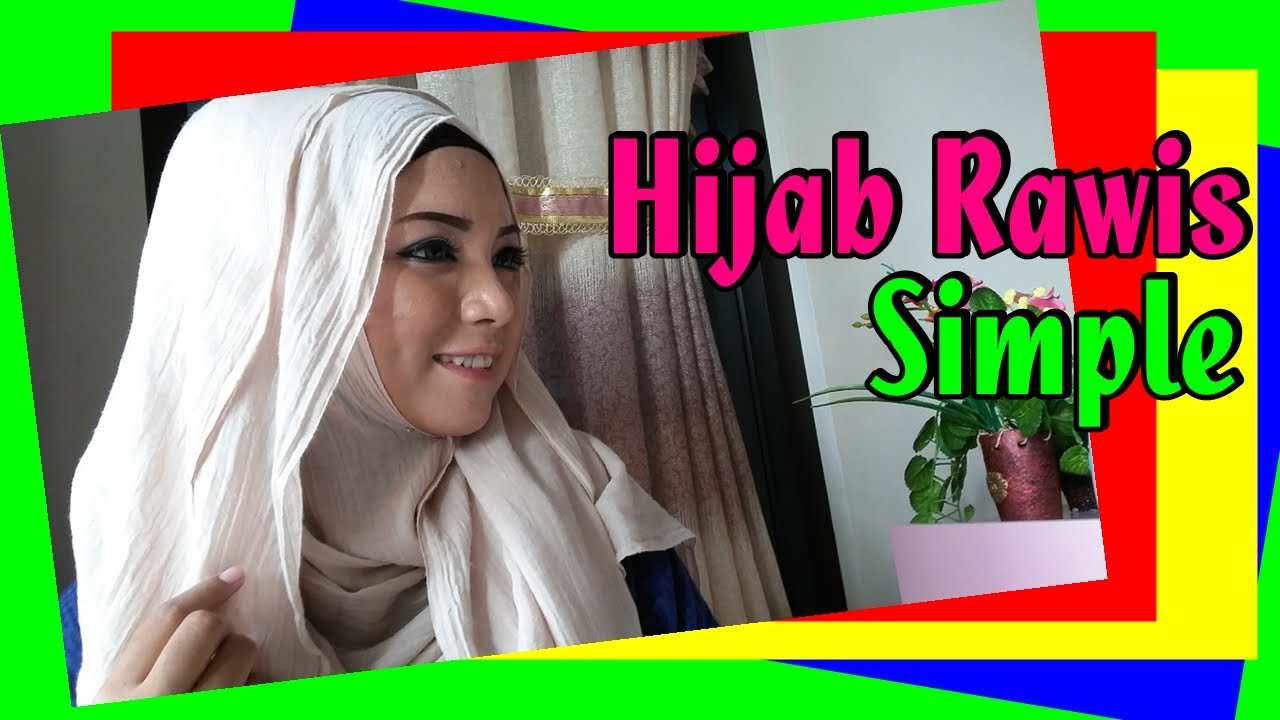 Tutorial Hijab Pashmina Rawis Kusut Simple By Revi 213 YouTube