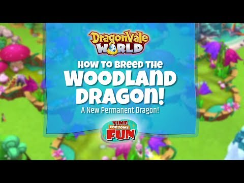 Dragonvale World | How to Breed the Woodland Dragon - YouTube