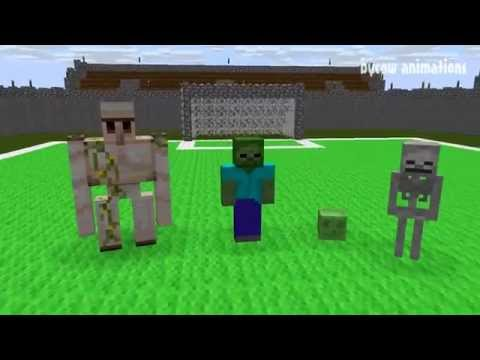 Monster School: Football (Minecraft Animation)
