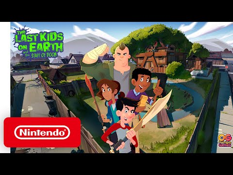 The Last Kids on Earth and The Staff of Doom - Announcement Trailer - Nintendo Switch