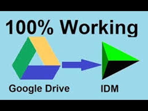 Download Google drive files using IDM in bangla 100% working