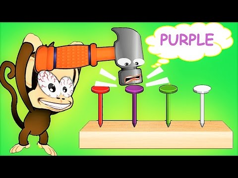 Thumbnail: Children Learn And Have Fun With Baby Monkey – Fun Educational Games