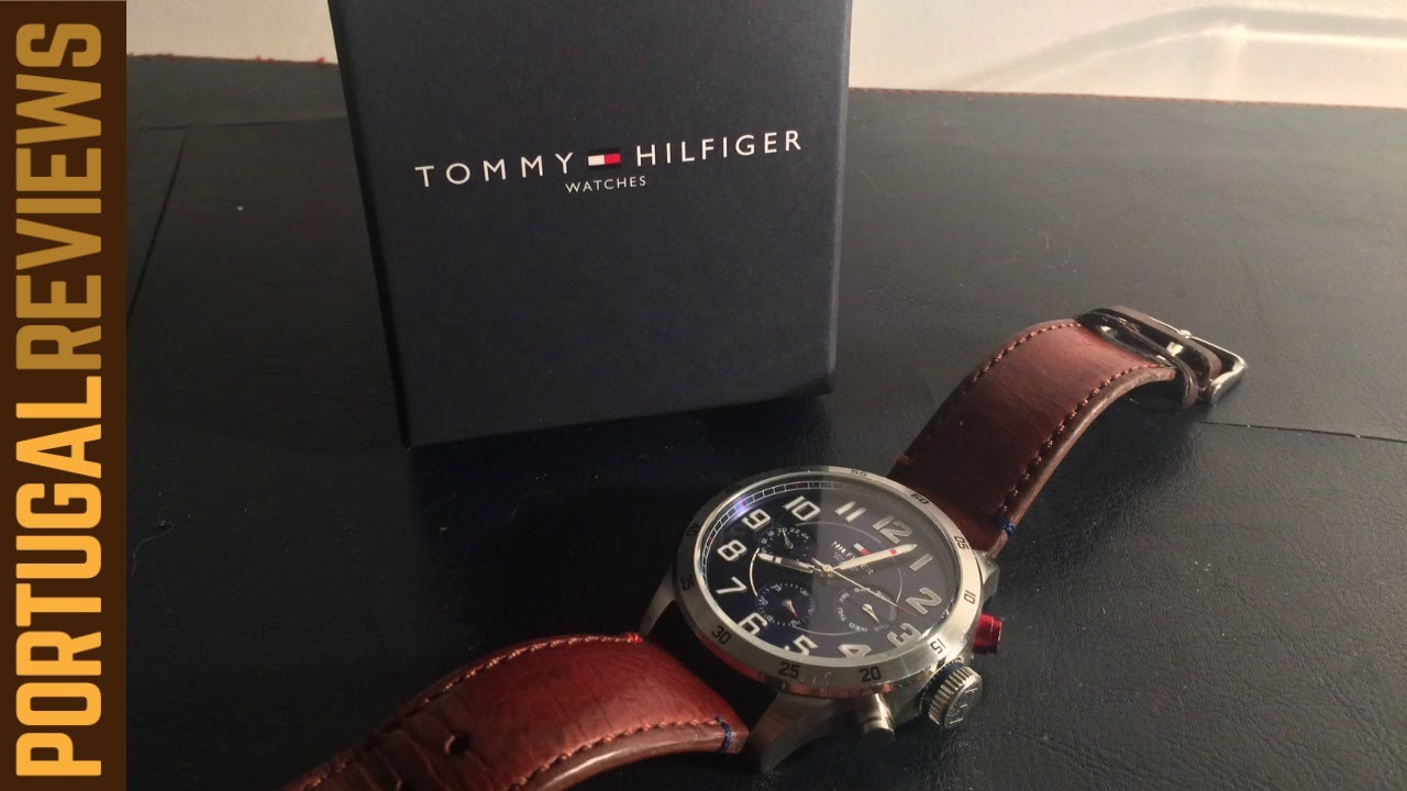 e2292fd67 Tommy Hilfiger Mountaineer Watch Review - YouTube