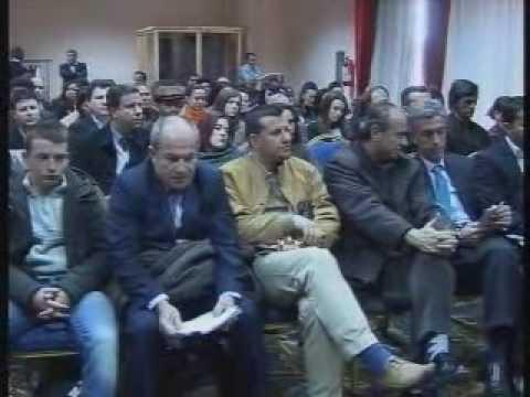 """FDE, Albania: Brain Stand, Hotel Tirana - """"Qëndrimi, Vlerësimi dhe Lartësimi i Trurit Shqiptar""""."""