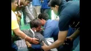 Ambulance called for SivaRanjan Uppala