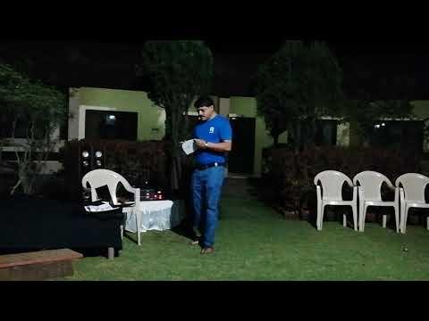 Aaj khela bhangar khela karaoke covered by SAANDIIP N LAHIRI