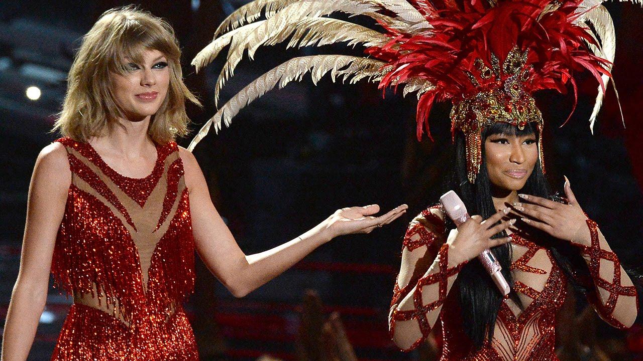 Taylor Swift Canta Bad Blood Con Nicki Minaj En Los 2015 Mtv Vma S Youtube