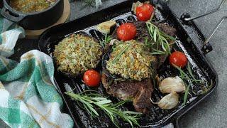 Co na obiad: Klasyczny stek z rabarbarowym chutney