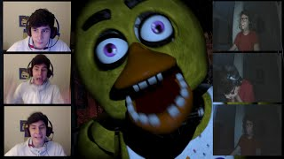 MORREMOS DE SUSTO! - Five Nights at Freddy's MULTIPLAYER!