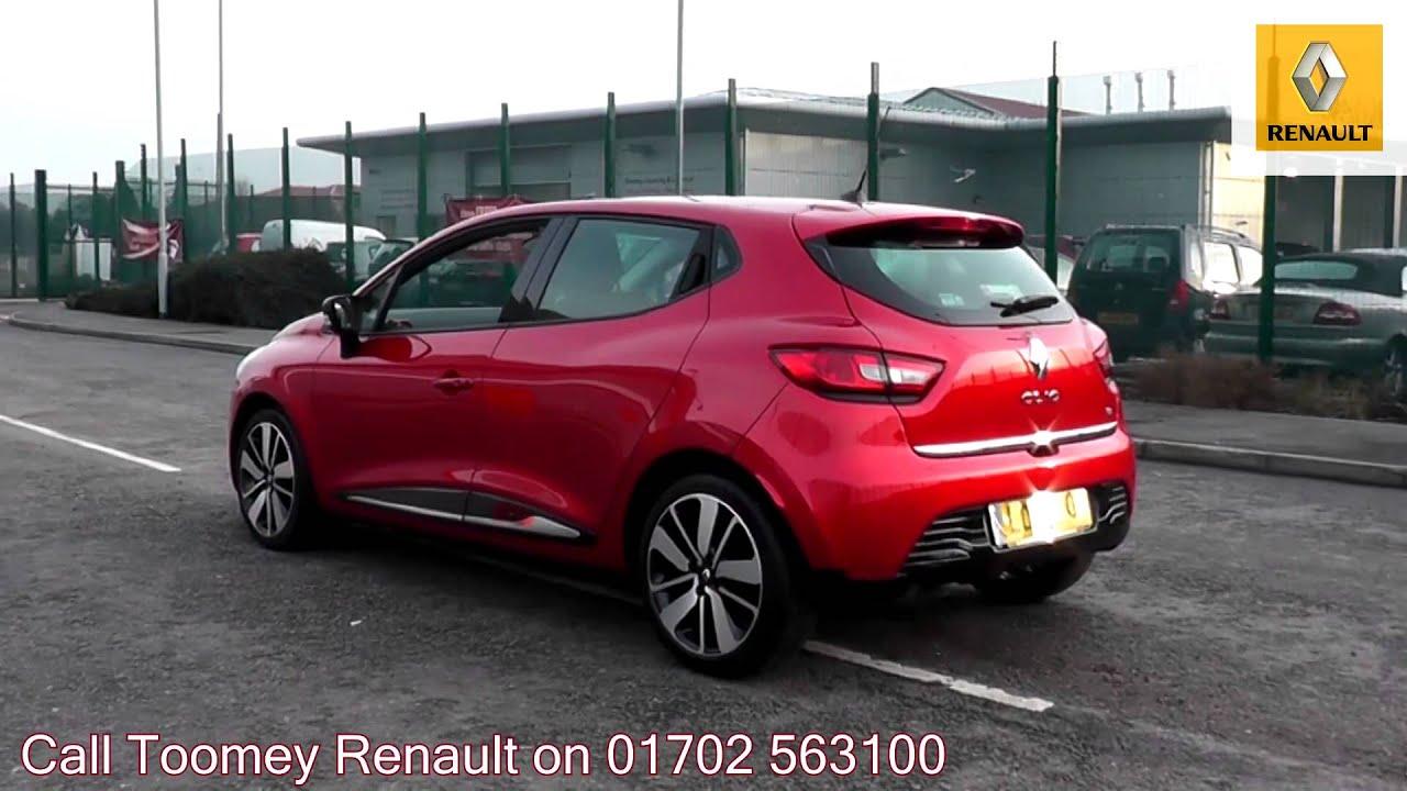 2013 Renault Clio Dynamique S MediaNav 0.9l Red LO13EVF ...