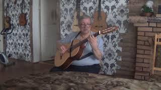 Гитара Doff- C - Зелёные рукава, обработка Агабабов В.П
