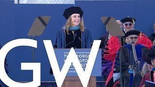 2019 GW Commencement Speaker - Savannah Guthrie