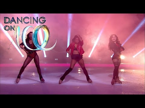 Amazing Ice Skating Professionals Dance to Little Mix's 'Power'!   Dancing On Ice 2018