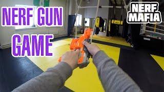 Gun game nerf 1 vs 1 || Нёрф война 1 на 1