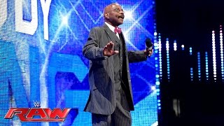 Teddy Long kehrt überraschend zu WWE zurück: Raw, 6. Juni 2016