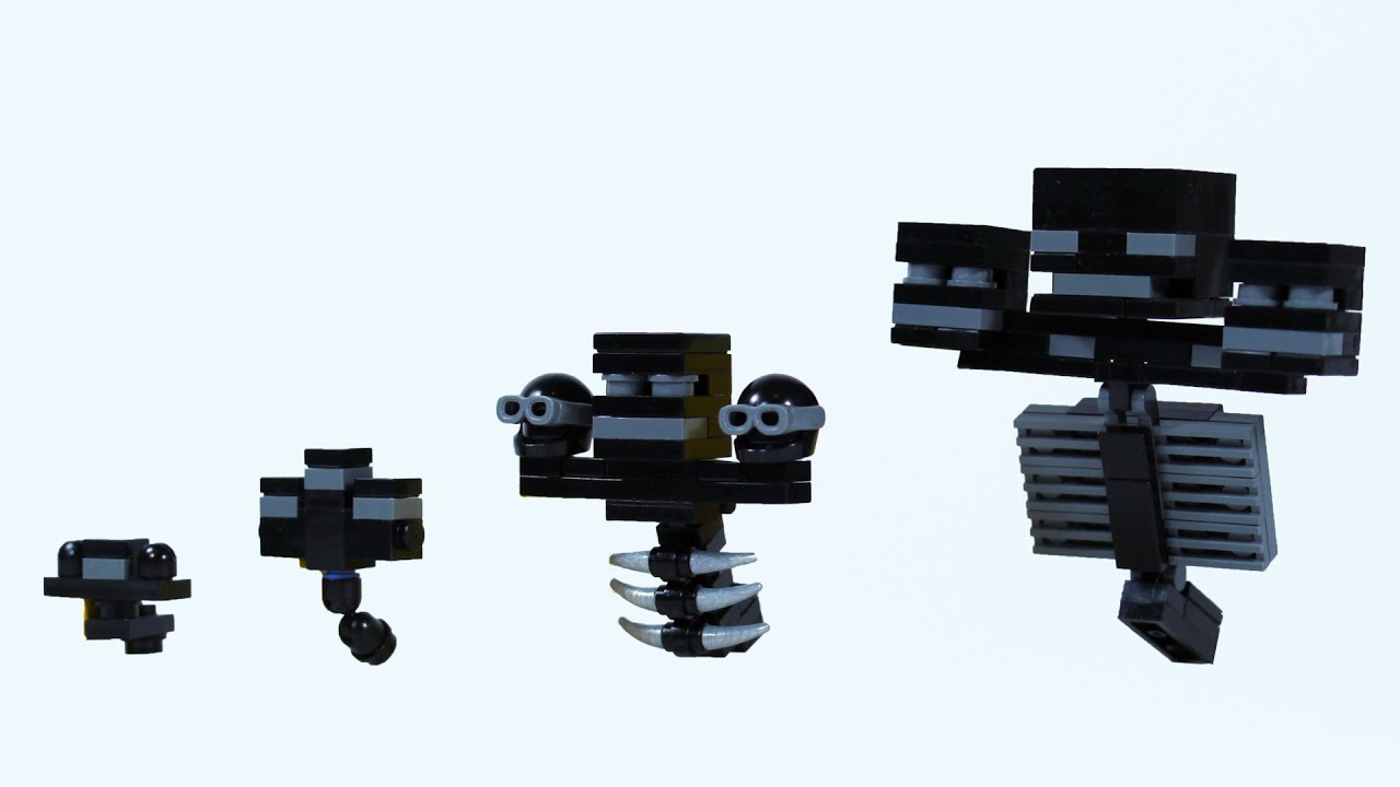 Minecraft Plush Wither Skeleton