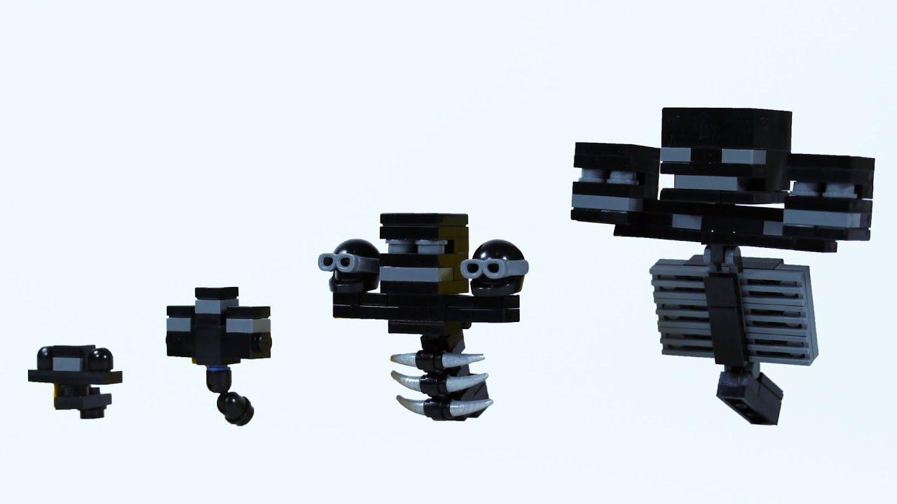 Minecraft Plush Wither Skeleton