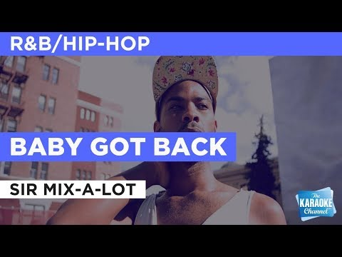 Baby Got Back in the style of Sir Mix-A-Lot | Karaoke with Lyrics