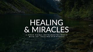30+ Healing Scriptures: Beautiful Relaxing Music   Time With Holy Spirit   Alone With God