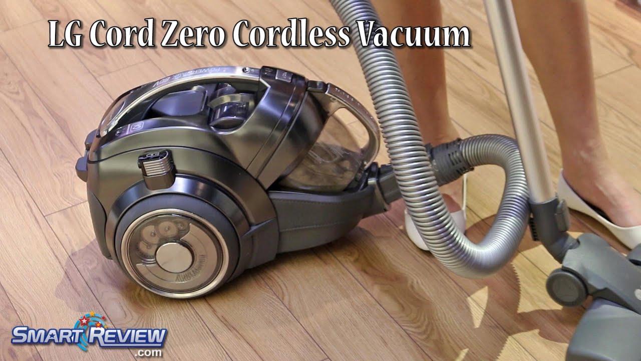 Lg Cord Zero Cordless Canister Vacuum
