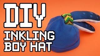 Inkling Boy Hat Diy Tutorial