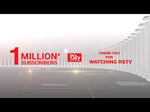 Promo - RSTV crosses 1 million subscribers on YouTube