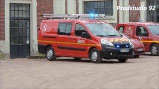 SDIS 62 Départ VSAV et VID Sapeurs-Pompiers de Oignies
