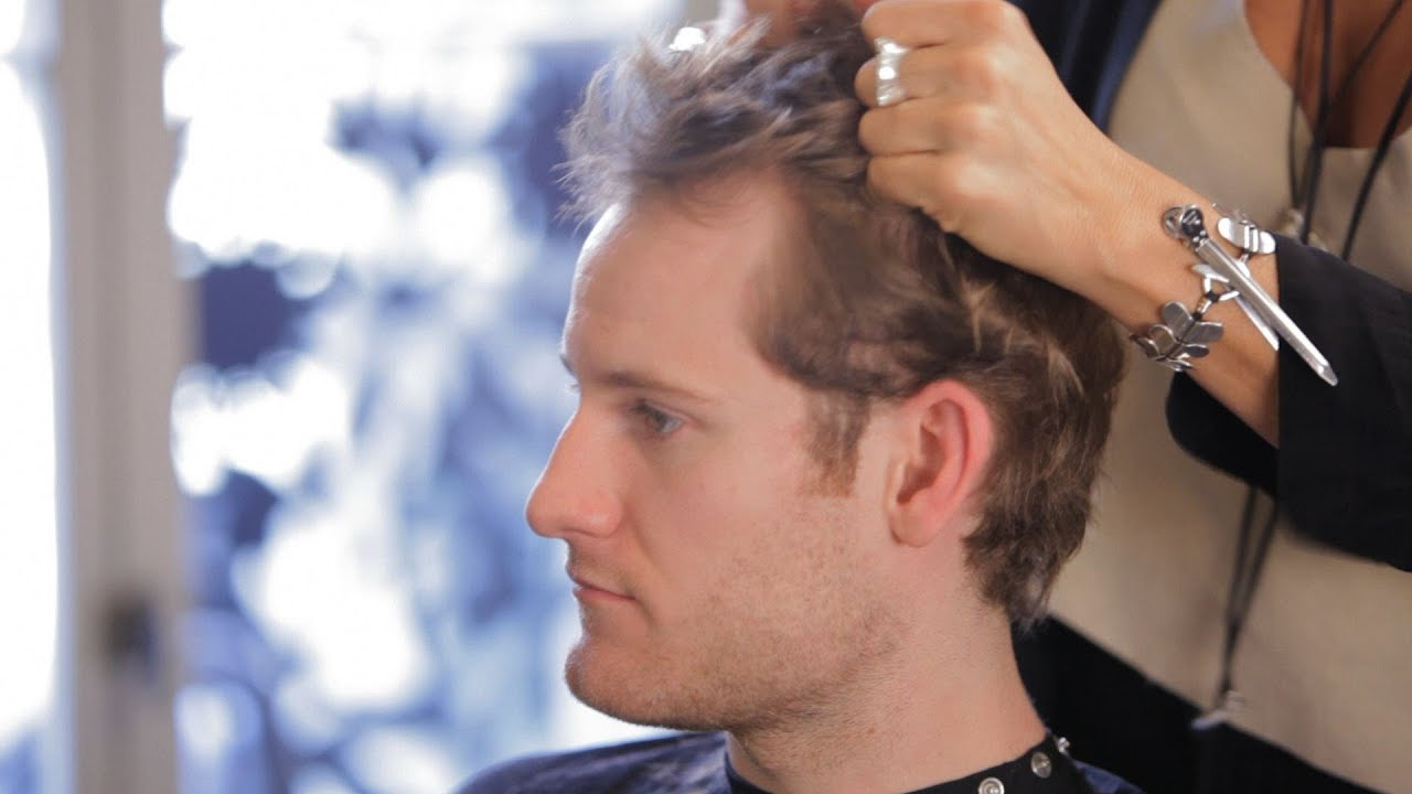 how to hide thinning hair | men's grooming - youtube
